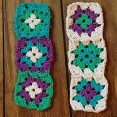 Granny Square Bookmarks