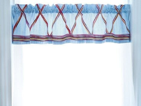Super Cute Duct Tape .  Free tutorial with pictures on how to make a curtain/blinds in under 25 minutes by decorating with measuring tape, chalk, and valance. How To posted by GMC Group.  in the Decorating section Difficulty: Simple. Cost: Cheap. Steps: 6
