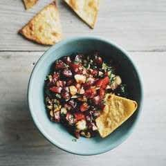 Dark Cherry Hazelnut Salsa
