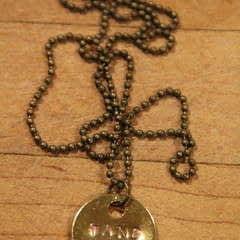 Diy Jewelry Stamping Via Makers Kit