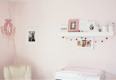 Little Girl's Nursery .  Free tutorial with pictures on how to make a gallery wall in 8 steps by decorating with spray paint, frames, and spice racks. How To posted by Ruthie T.  in the Decorating section Difficulty: Easy. Cost: No cost.