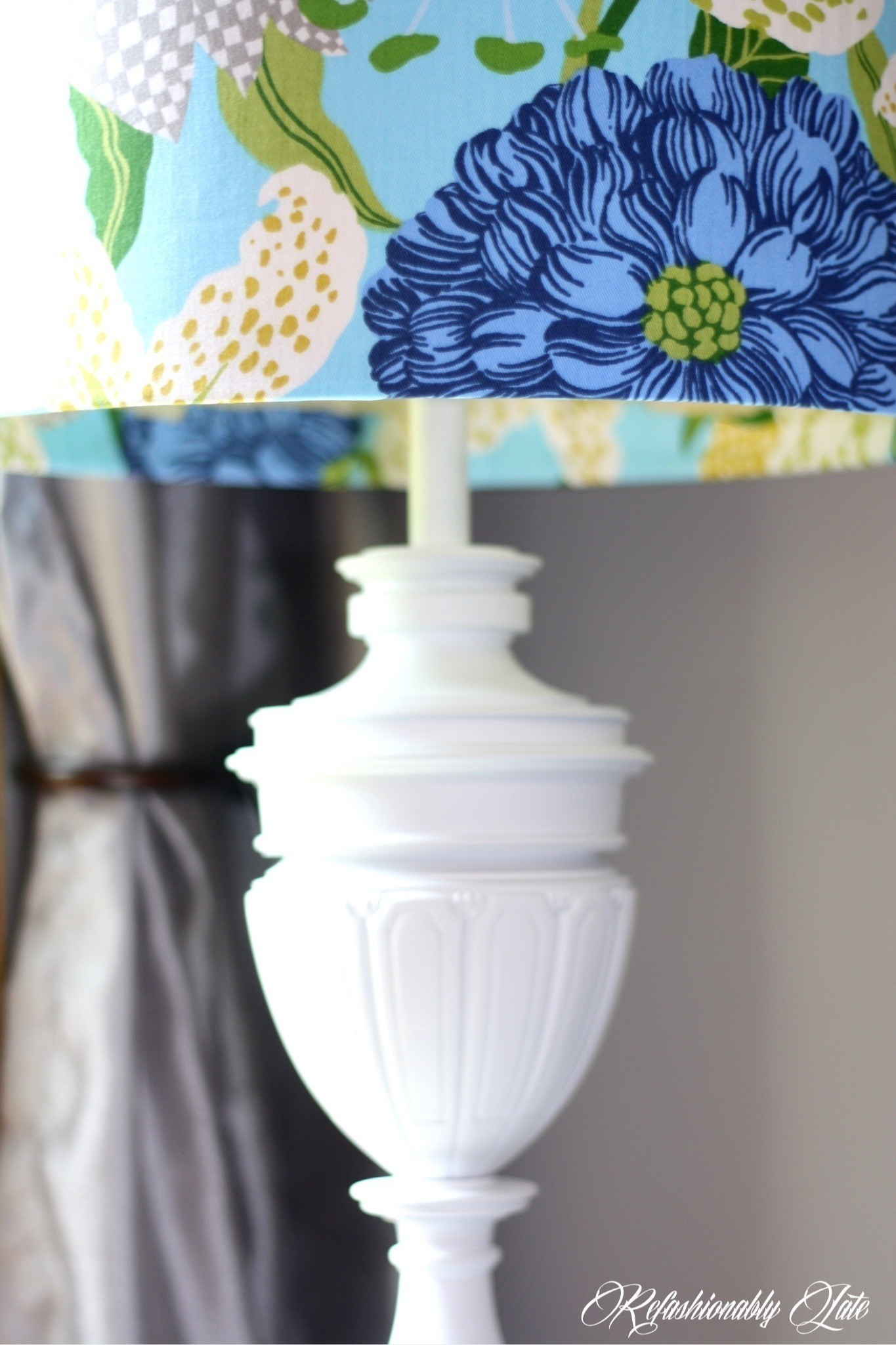 Diy Lamp Revamp 183 How To Make A Lamp Lampshade 183 Decorating On Cut Out Keep