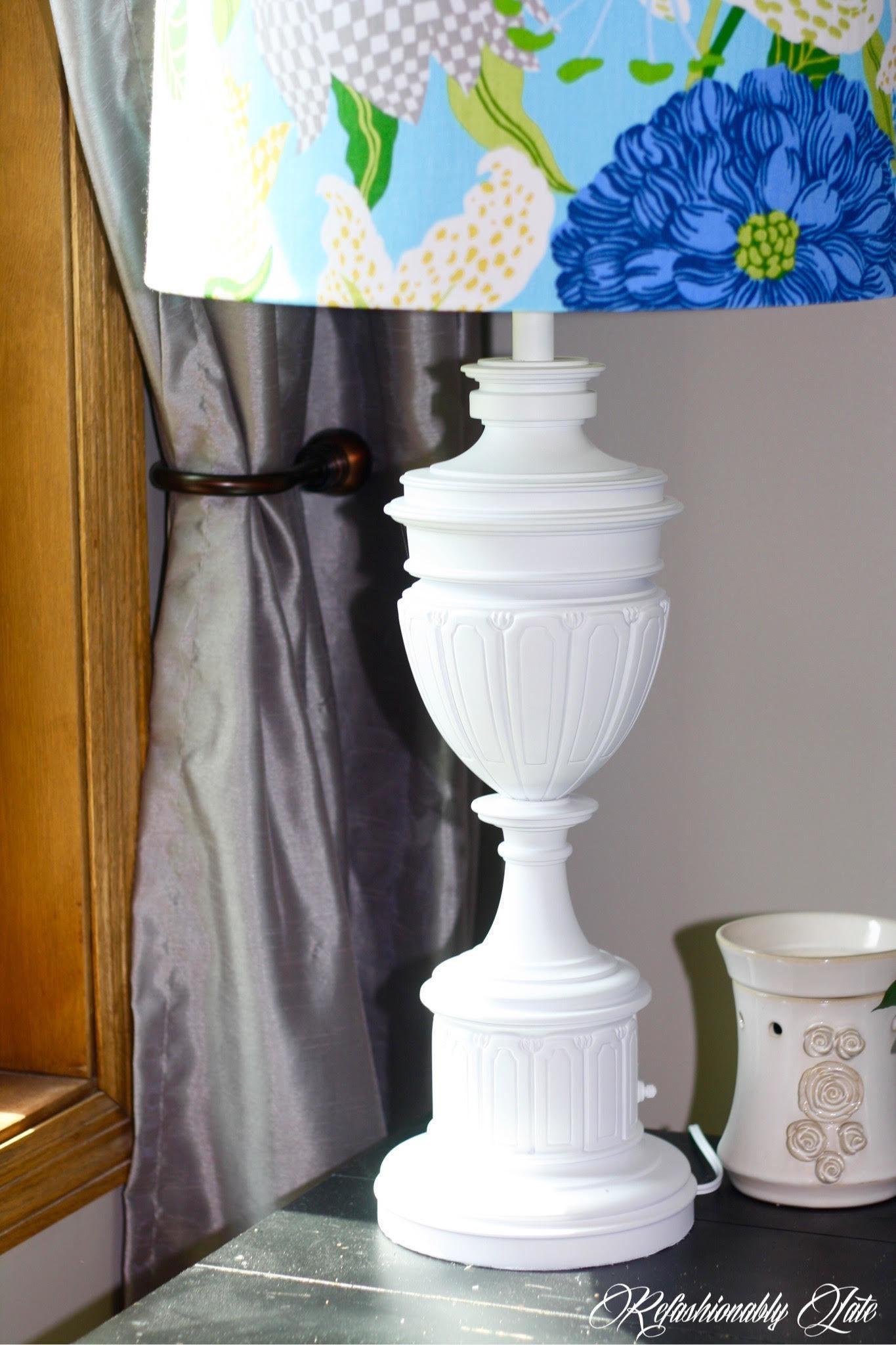 Diy Lamp Revamp 183 How To Make A Lamp Lampshade