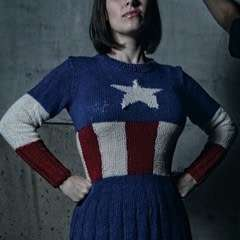 America! Sweater Dress