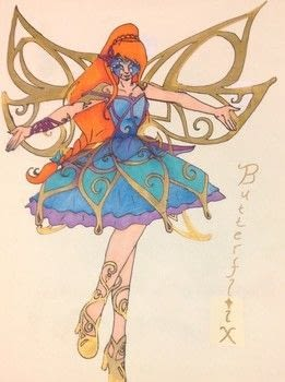 Dragon Queen: Fairy Form: Butterflix! .  Draw a manga drawing in under 120 minutes by creating and drawing with markers, pencil, and marker pen. Creation posted by Kinhime Dragon.  in the Art section Difficulty: 4/5. Cost: No cost.