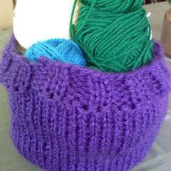 Yarn Storage Basket