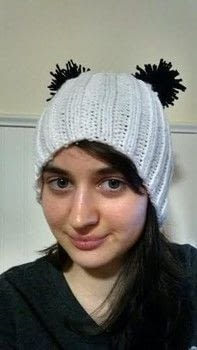 This is a project I've wanted to do for such a long time! .  Free tutorial with pictures on how to make a beanie in under 180 minutes using circular knitting needles, super chunky yarn, and scissors. Inspired by pandas. How To posted by Violette Lovelace. Difficulty: Easy. Cost: Absolutley free. Steps: 6