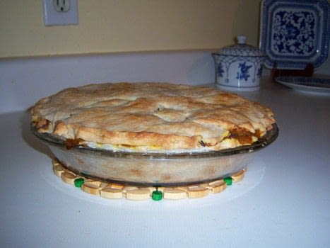 Start your own family tradition from Ontario, Canada! .  Free tutorial with pictures on how to  bake a meat pie in under 60 minutes using salt, pepper, and broth. Inspired by christmas, pies, and meat. Recipe posted by Renee D.  in the Recipes section Difficulty: Simple. Cost: 3/5. Steps: 7