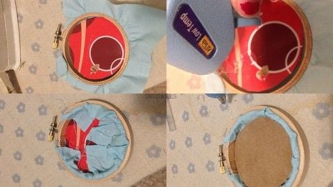 Cheeky Fun For The Home! .  Free tutorial with pictures on how to embroider art in under 60 minutes by embroidering, needlepointing, and hand sewing with scissors, crochet hook, and cardboard. How To posted by Chudames.  in the Needlework section Difficulty: 3/5. Cost: 3/5. Steps: 9