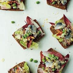 Herring, Broad Bean & Beetroot Salad With Horseradish Dressing
