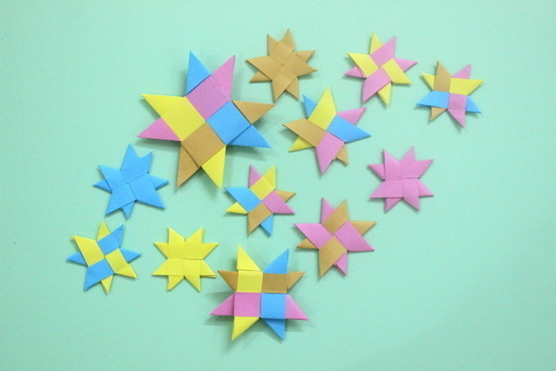 How to Make an Origami Lucky Star - Red Ted Art - Make crafting ... | 534x800