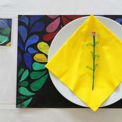 DIY Batik Table Mats