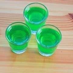 Slime Princess Jell O Shots