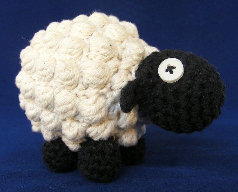 Amigurumi Bobble Stitch : Bobble Sheep ? How To Make A Lamb / Sheep Plushie ...