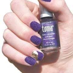 Velvet Texture Nails