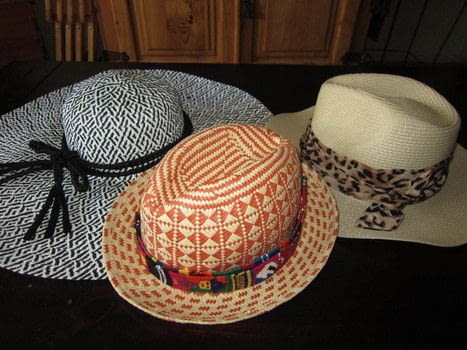 Use belts in your closet to jazz up your hats! .  Free tutorial with pictures on how to make a hat in under 2 minutes using hat and belts. How To posted by Sheena D.  in the Other section Difficulty: Easy. Cost: No cost. Steps: 9