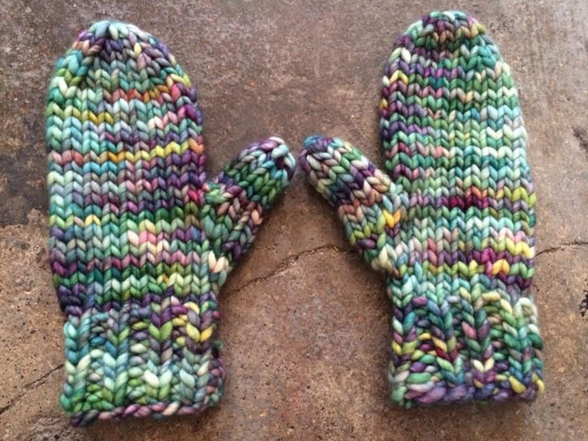 Lightning Fast Mittens · How To Make Mittens · Yarncraft on Cut Out ...