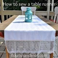 Sew A Simple Table Runner!