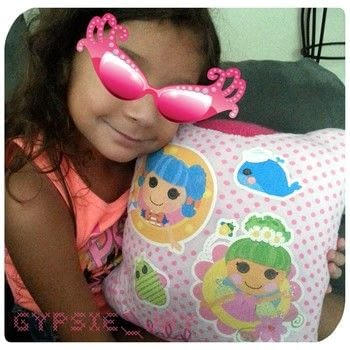 Sew cute, my first sewing project! .  Make a recycled cushion in under 45 minutes by sewing, crocheting, and hand sewing with t shirt, polyfill, and sewing machine. Inspired by for girls and bedroom. Creation posted by jesika_galaxia.  in the Sewing section Difficulty: Simple. Cost: No cost.