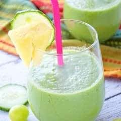 Perfect Pick Me Up Green Smoothie