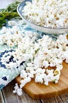 Movie nights just got a whole lot better! .  Free tutorial with pictures on how to make popcorn in under 10 minutes by cooking with coconut oil, popcorn, and fresh herbs. Inspired by movies and gluten free. Recipe posted by Keri Z.  in the Recipes section Difficulty: Simple. Cost: Cheap. Steps: 2