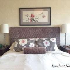 Upholstered Headboard Slipcover