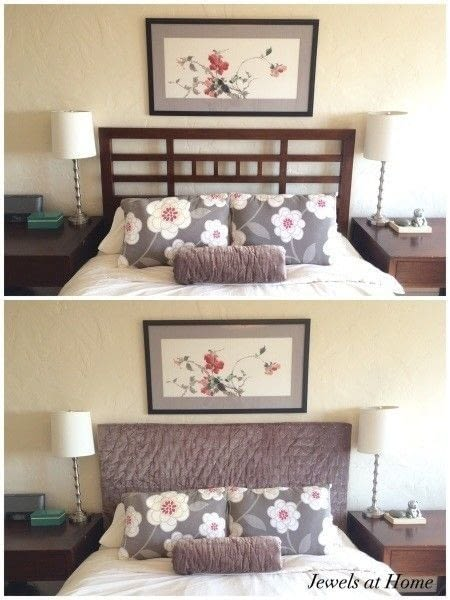 Upholstered Headboard Slipcover 183 How To Make A Bed