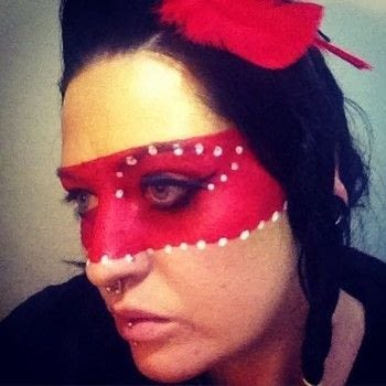 Native American Inspired .  Create a face painting in under 5 minutes using face paint, sponge, and paintbrush. Inspired by indian. Creation posted by Xx13.CrowsxX.  in the Beauty section Difficulty: Simple. Cost: No cost.