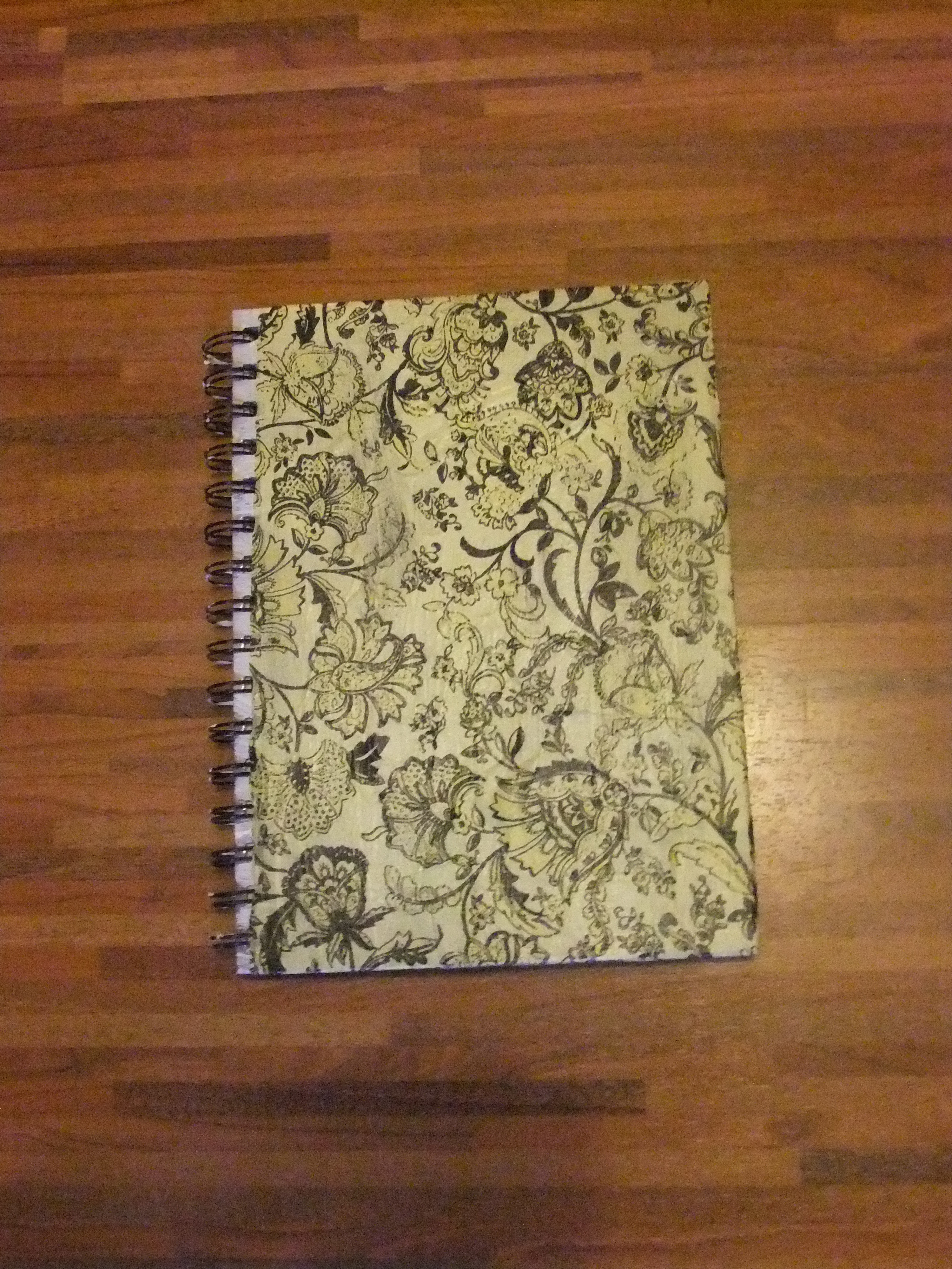 Easy Paper Book Cover : Notebook cover made of paper · how to make a book