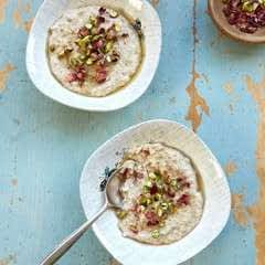 Orange Blossom And Pistachio Porridge