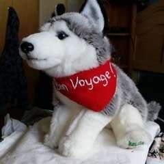 Bon Voyage! Wolf Plush