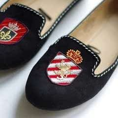 [Diy] Emblazoned Loafers