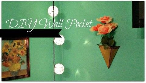 A fun and cheap way to add some dimension to your walls! .  Free tutorial with pictures on how to make wall decor in under 25 minutes using cardboard, glue, and thumbtacks. How To posted by Cheryl .  in the Home + DIY section Difficulty: Easy. Cost: No cost. Steps: 1
