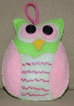 Cute owl .  Make a bird plushie in under 30 minutes by sewing with felt, thread, and needle. Inspired by owls. Creation posted by rhino1.  in the Sewing section Difficulty: Easy. Cost: Absolutley free.