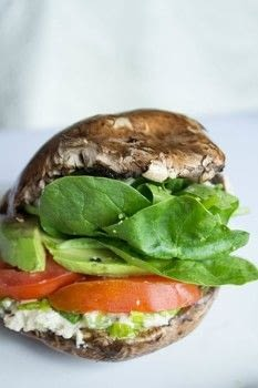 A low carb, dairy free alternative to burgers! .  Free tutorial with pictures on how to cook a mushroom burger in under 30 minutes by cooking with cups, garlic cloves, and spinach. Inspired by gluten free. Recipe posted by Carissa C.  in the Recipes section Difficulty: Simple. Cost: Cheap. Steps: 4