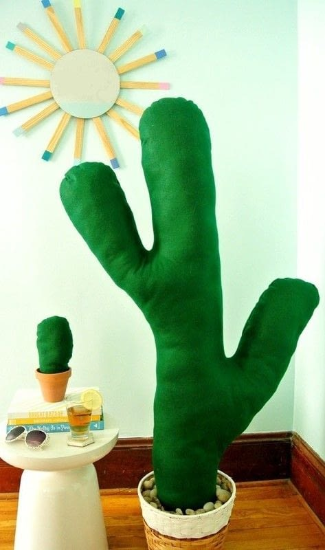 Make A Giant Cactus 183 How To Make A Plant Plushie 183 Sewing