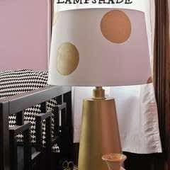 Polka Dot Lampshade