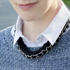 Chain Crochet Necklace