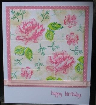 Create A Finished Card Using The Faux Tile Background Technique .  Free tutorial with pictures on how to make a greetings card in under 15 minutes by papercrafting and cardmaking with technique, cardstock, and patterned paper. How To posted by Peg R.  in the Papercraft section Difficulty: Easy. Cost: 3/5. Steps: 8