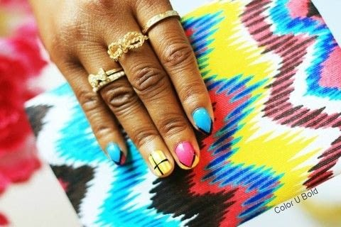 .  Free tutorial with pictures on how to paint patterned nail art in under 5 minutes by nail painting with nail polish and nailpolish. Inspired by inspiration. How To posted by Jasmine H. Difficulty: Simple. Cost: Cheap. Steps: 1