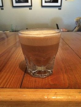 Mix The Fredericks coffee with Once Over Coffee Bar .  Free tutorial with pictures on how to make an iced coffee in under 5 minutes by mixing drinks with espresso, milk, and sugar. Recipe posted by A Bite To Eat.  in the Recipes section Difficulty: Simple. Cost: Cheap. Steps: 6