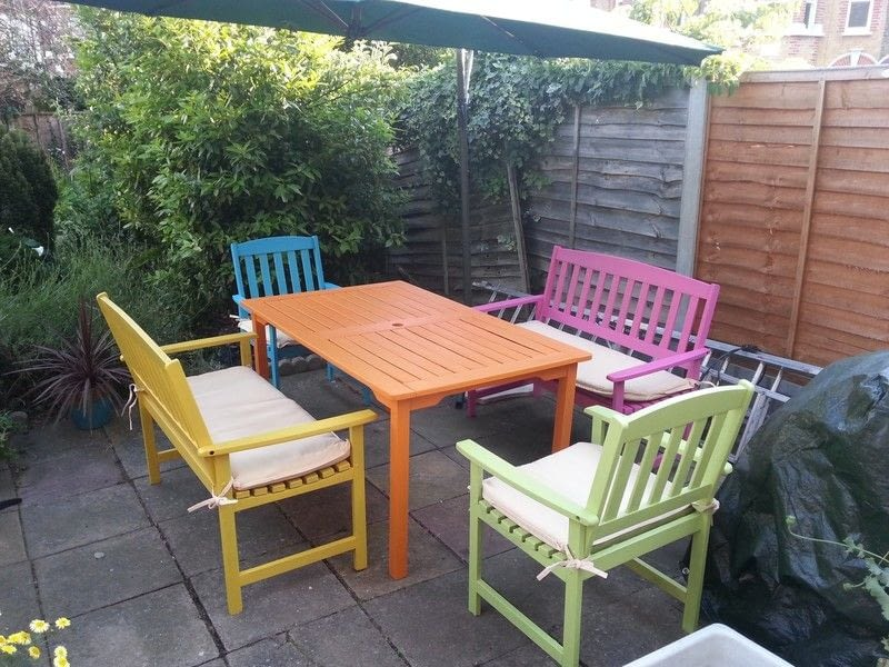 Candy Summer Garden Furniture · A Painted Table · Decorating on Cut Out Keep
