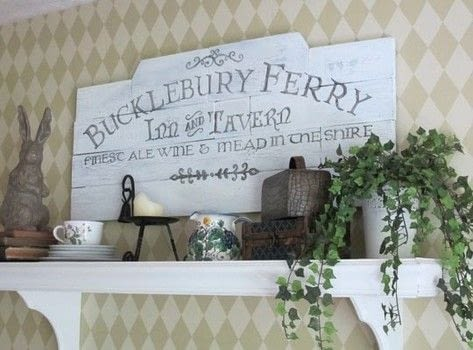 Add a little geek-chic to your rustic decor! .  Free tutorial with pictures on how to make a plaque / sign in under 60 minutes by decorating with wood. How To posted by Jennifer T.  in the Home + DIY section Difficulty: 4/5. Cost: 3/5. Steps: 4