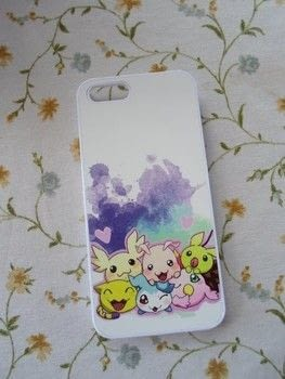 Kawaii Digimon Cell case .  Make a phone case in under 11 minutes using printer, phone case, and heat press. Inspired by anime & manga. Creation posted by Luna.  in the Art section Difficulty: Easy. Cost: 3/5.