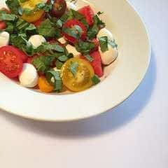 Caprese Watermelon Salad