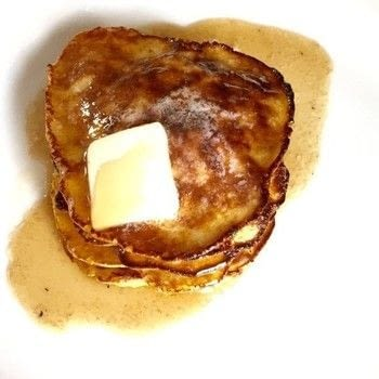 The easiest breakfast ever. .  Free tutorial with pictures on how to cook a pancake in under 20 minutes by cooking with banana, eggs, and baking powder. Recipe posted by Becky F.  in the Recipes section Difficulty: Simple. Cost: Absolutley free. Steps: 4