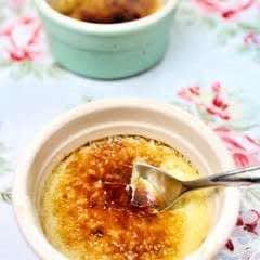 Lavender & Honey Creme Brulee