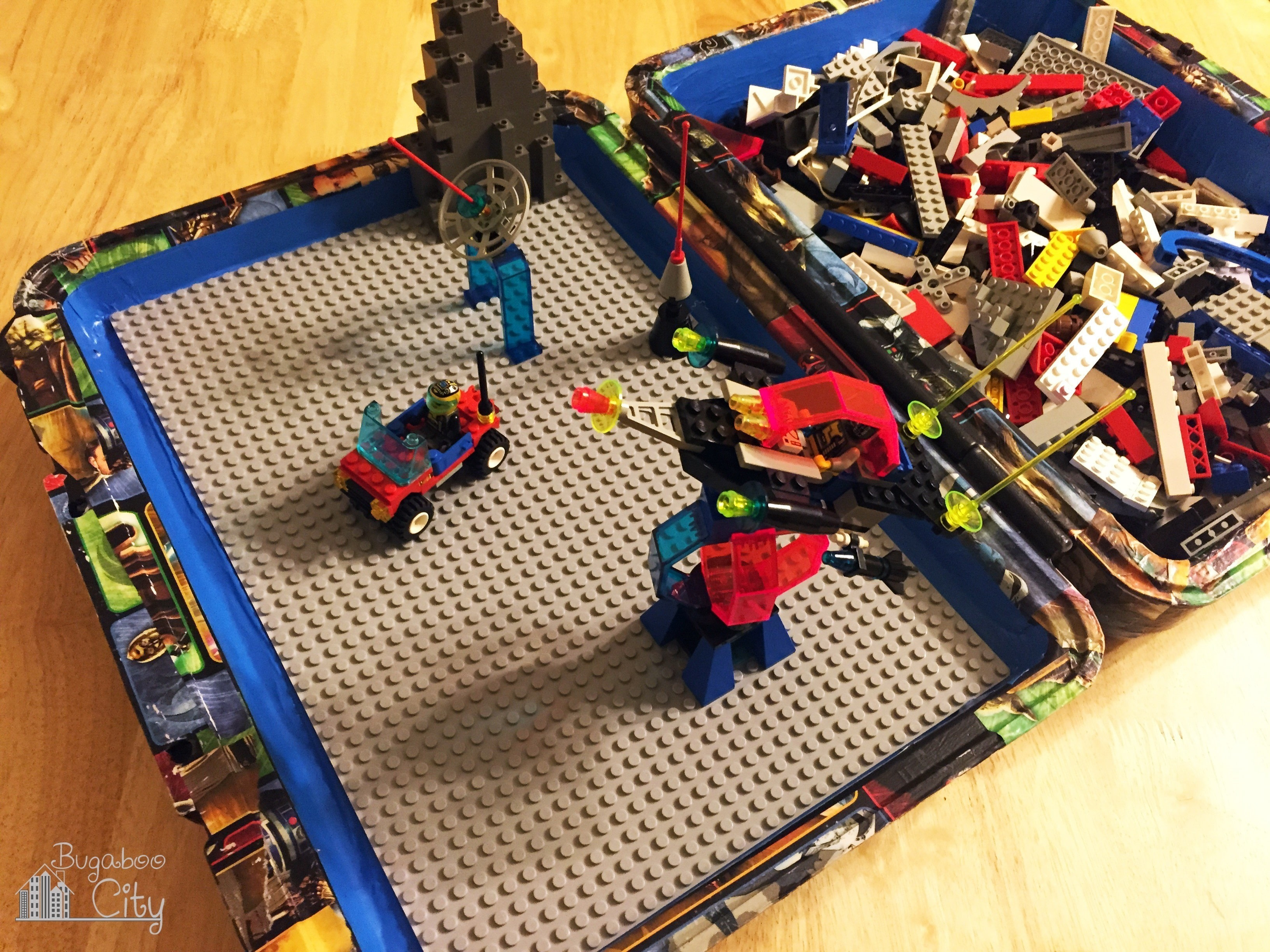 Lego Travel Case Diy