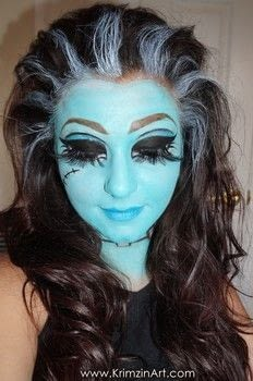 .  Free tutorial with pictures on how to create a face painting in under 35 minutes by applying makeup with lenses and lenses. Inspired by monsters and monster high. How To posted by Krimzinart.  in the Beauty section Difficulty: Simple. Cost: Cheap. Steps: 1