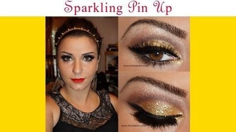 .  Free tutorial with pictures on how to create a pin-up makeup look in under 60 minutes by applying makeup with primer, eye shadow palette, and eyeliner. How To posted by Krimzinart.  in the Beauty section Difficulty: 3/5. Cost: Cheap. Steps: 1